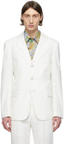 Givenchy White Twill Blazer