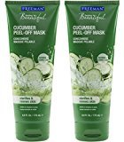 Freeman Feeling Beautiful Cucumber Peel-Off Gel Mask, 6-Ounce, 2 Count