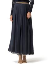 Tommy Hilfiger Silk Maxi Skirt Gigi Hadid