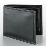 Buxton Zip Convertible Leather Billfold Wallet