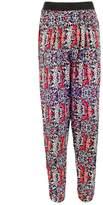 Select Fashion Fashion Womens Multi Tulip Print Soft Trouser - size 6