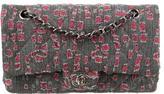 Chanel Medium Distressed Denim Classic Double Flap Bag