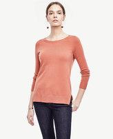 Ann Taylor Petite Wool Cashmere Tunic Sweater