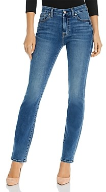 7 For All Mankind Kimmie Straight-Leg Jeans in Bair Authentic Destiny