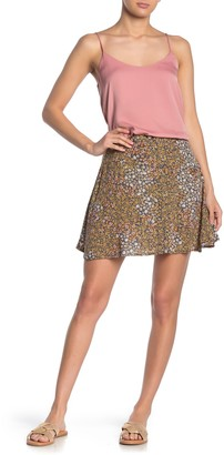 Cotton On Allegra Floral Button Front Mini Skirt