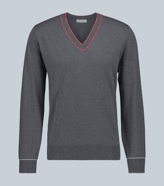 Brunello Cucinelli V-neck cotton sweater