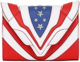 Elena Ghisellini Felina Stars & Stripes Leather Bag