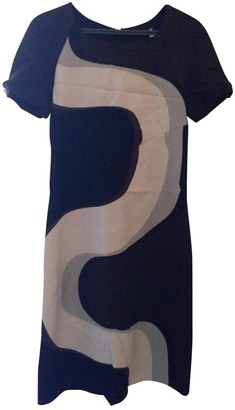 Versace Brown Wool Dresses