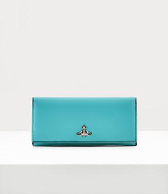 Vivienne Westwood Alex Long Card Holder Light Blue