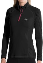 Lowe alpine DRYflo® 150 Base Layer Top - Zip Neck, Long Sleeve (For Women)