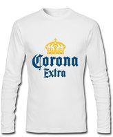 Corona Extra Logo For 2016 Mens Printed Long Sleeve tops t shirts