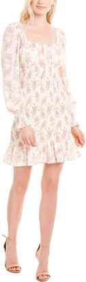 Cistar Smocked Mini Dress