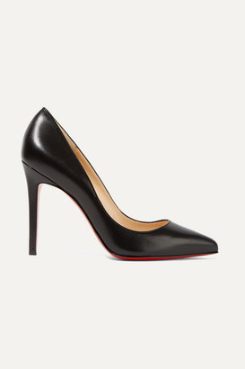 Christian Louboutin Pigalle 100 Leather Pumps - Black