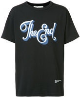 Off-White chest print T-shirt