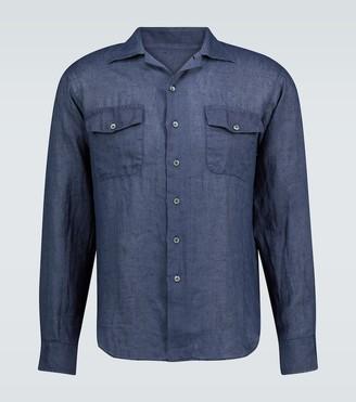 Thegigi Araki long-sleeved linen shirt
