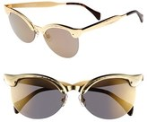 beyonce knowles  Who made  Beyonce Knowles gold cat sunglasses?