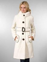 Joana Z 3/4 Belted Coat in Off White