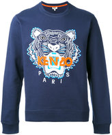 Kenzo tiger print sweatshirt - men - Cotton/Spandex/Elastane - S