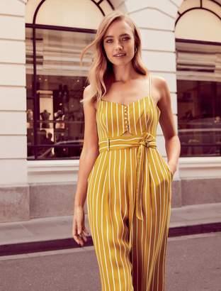 Ever New Alexa Petite Stripe Jumpsuit