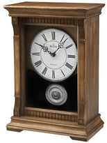 Bulova Warrick III Pendulum Mantel Clock