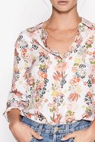 Equipment Floral Silk Shirt