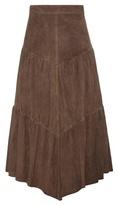 Saint Laurent Suede Skirt