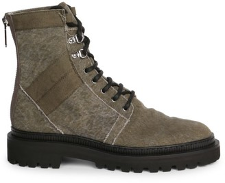 Balmain Ranger Zip-Up Ankle Boots