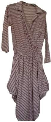 Wunderkind Multicolour Cotton - elasthane Dress for Women