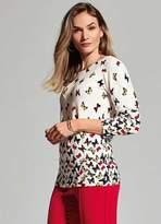 Kaleidoscope Butterfly Sweater