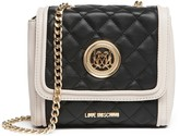 Love Moschino Colorblock Quilted Foldover Crossbody