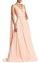 Forever Unique Florence Sleeveless Pleat Embellished Waist Dress