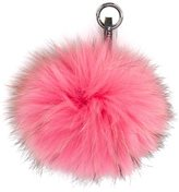 N.Peal fur keyring - women - Racoon Fur - One Size
