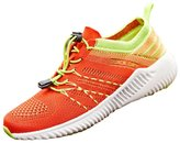 fereshte Unisex Adults Women's Men's Lace Up Climbing Running Shoes Hiking Boots Walking Sneakers EU43 - US Women 10(Men 9)