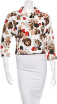 Dolce & Gabbana Cropped Floral Jacket w/ Tags