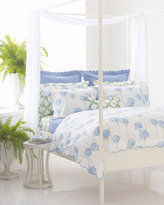 Lulu DK for Matouk Charlotte Bed Linens Queen Fitted Sheet