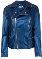 Desa 1972 metallic biker jacket
