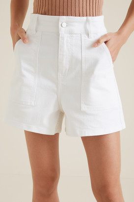 Seed Heritage Patch Pocket Short
