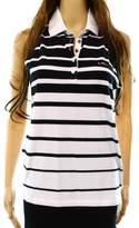 Lauren Ralph Lauren White Women's Size Medium M Striped Tank Top