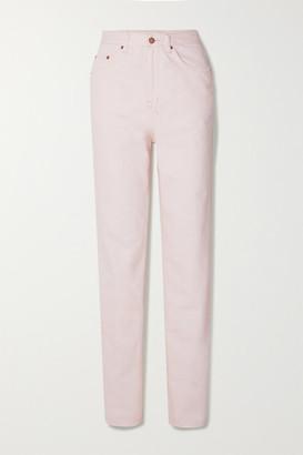 Ksubi Playback High-rise Straight-leg Jeans - Pink