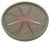 Threshold Wood & Copper Star Tray