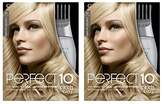 Clairol Perfect 10 By Nice 'N Easy Hair Color 010 Lightest Blonde 1 Kit (Pack of 2)