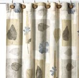 Croscill Spa Leaf 70-Inch x 75-Inch Fabric Shower Curtain
