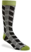 Ted Baker Men's Geometric Organic Cotton Blend Socks