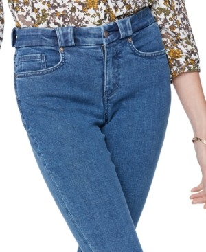 NYDJ Ami Chewed-Cuff Skinny Ankle Jeans