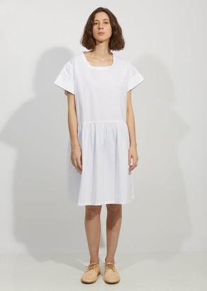 VIS Ā VIS Cotton Poplin Pleated Sleeve Dress