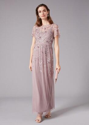 Phase Eight Shirin Embellished Maxi Dress