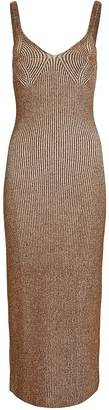 Mara Hoffman Ivy Sleeveless Rib Knit Midi Dress