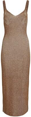 Mara Hoffman Ivy Sleeveless Rib Knit Midi Dress