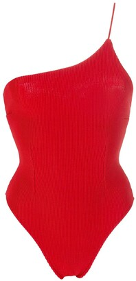 Haight Knit One Shoulder Bodysuit