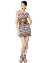 MSGM Pleated Crepe Dress